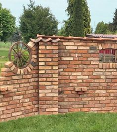 one Even though ancient within thought, this pergola is going through a bit of a Backyard Fences, Backyard Landscaping, Diy Fence, Fence Ideas, Black Pergola, Gazebo, Pergola Attached To House, Farmhouse Style Kitchen, Brick Wall