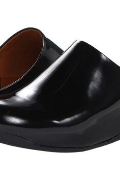 FitFlop Shuv Patent (Black) Women's Clog Shoes - FitFlop, Shuv Patent, 322-001, Footwear Closed Clog, Clog, Closed Footwear, Footwear, Shoes, Gift, - Street Fashion And Style Ideas
