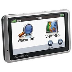 Garmin GPS with lifetime map updates and traffic updates :) included