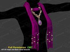 Textile necklace 3 Full Permission