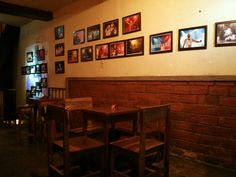 Houten Hand Cafe & Beerhouse, Malang, Indonesia.