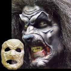 Werewolf wolfman costume mask