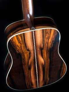 Acoustic Guitar Back and Sides
