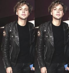 Omg I can't even...The leather jacket