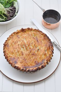 The Fabulous Chicken Pie inspired by Australian Icon Maggie Beer - once you make this you'll never want to eat any other pie again! Beer Recipes, Gourmet Recipes, Chicken Recipes, Cooking Recipes, Recipies, Duck Recipes, Savory Pastry, Savoury Pies, Savoury Recipes