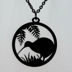 Kiwi Silhouette Pendant - Online Gift Shop - NewZealand Design & Gifts - Buy NZ Made Presents Polynesian Tattoo Designs, Maori Designs, Silhouette Painting, Bird Silhouette, Bird Template, Bird Stencil, Kiwi Bird, Nz Art, Metal Birds