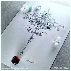 Nenhuma descrição de foto disponível. Delicate Tattoo, Tattoo Life, Mandala Design, String Art, Wattpad, Tatoos, Queen Lyrics, Dandelion, Piercings