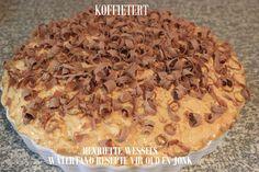 TERTE & ROLKOEKE - SOET Tart Recipes, My Recipes, Kit Kat Brownies, Dessert Ideas, Dessert Recipes, Fridge Cake, South African Recipes, Meringue Cookies, Afrikaans