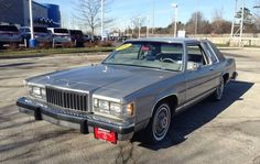 10k Miles: 1984 Mercury Grand Marquis - http://barnfinds.com/10k-miles-1984-mercury-grand-marquis/