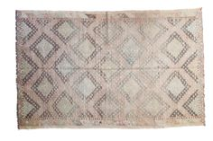 "Vintage Jijim Carpet - 5'6"" X 8'8"" on Chairish.com"