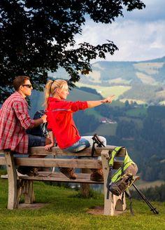 Genießen Sie im Naturpark Almenland zahlreiche Wanderwege über die Almen und von Hütte zu Hütte. #wandern #bewegung #almenland #naturparkalmenland  (c) B. Bergmann Couple Photos, Couples, Hiking Trails, Biking, Hiking, Summer, Couple Shots, Couple Pics, Couple Photography