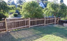 Japanese Garden Look with Bamboo Fencing