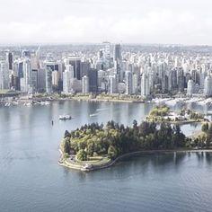 View of Vancouver from a seaplane.    (Photo: @katwesterman) #exploreBC #explorecanada