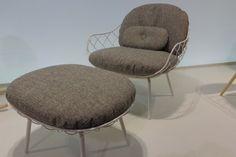 Cadeira e apoio da coleção Piña, design Jaime Hayon para a Magis