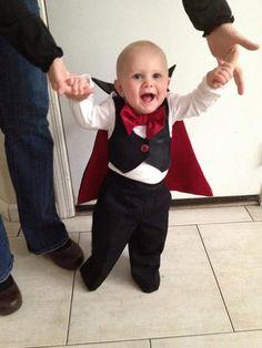 Dracula Baby or Toddler Onesie Costume by WaterleafSewing on Etsy, $68.00