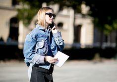 Что носят на Неделе моды в Париже: 6 часть