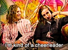 "Stone Gossard ""kind of a cheerleader..."""