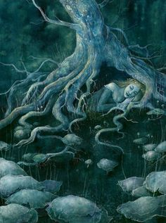 """The Witch Within novel by Iva Kenaz - moods - """"The Whispering Tree"""" by Kaelycea"""