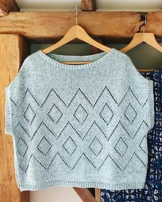 Lace Knitting Patterns, Knitting Stitches, Free Knitting, Baby Knitting, Knit Fashion, Knit Or Crochet, Knitwear, Knits, Sweaters