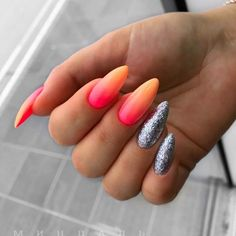 Gradient nails are one of the most popular manicure trends and they're definitely here to stay. They allow for tons of various color combos as well as nail designs and styles. Check out our guide for a dose of inspo. Gradient Nails, Gradient Nail Design, Nails Design, Popular Nail Designs, Colorful Nail Designs, Nail Art Designs, Halloween Nail Designs, Halloween Nails, Easy Halloween