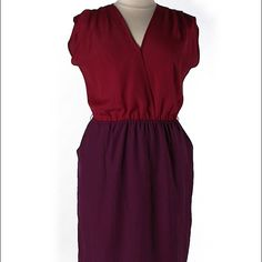 Harper and Gray Dress Fun red and purple party dress with pockets. No Damage. Never Worn. harper and gray Dresses
