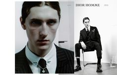 Dior Homme Fall 2014 Notes of a Day by Willy Vanderperre
