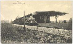 Heeze, De stoomtrein bij Station Heeze. 1913 - 1923