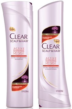 Raise your hand if you dry, curl, straighten, or color your hair. That's what we thought. This brand new duo is designed to patch fibers weakened by all of the above with a proprietary omega 3-6-9 complex. Clear Scalp & Hair Active Damage Resist Shampoo and Conditioner, $6, amazon.com   - HarpersBAZAAR.com