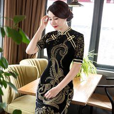 Cheongsam china wedding dress review https://www.ichinesedress.com/