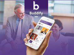 Ознакомьтесь с этим проектом @Behance: «Buddify   Social Network App» https://www.behance.net/gallery/35653429/Buddify-Social-Network-App