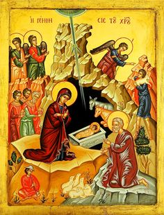 The Orthodox Church in America's Department of Christian Education [DCE] has several resources available for individual and group study that focus on the upcoming Great Feasts of Nativity and… Byzantine Art, Byzantine Icons, Religious Rituals, Religious Education, Religious Icons, Gif Photo, Jesus Art, Art Icon, Orthodox Icons