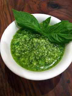 Pantry Dreams: DIY Nut Free Basil Pesto...trying this SOON!