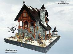LEGO Castle Contest - Medieval Life by Derfel Cadarn