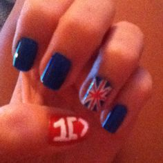 My One Direction nails :)
