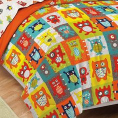 Shop for Dream Factory Silly Monsters Bed in a Bag with Sheet Set. Get free delivery On EVERYTHING* Overstock - Your Online Kids Bedding Store! Monster Bedroom, Monster Nursery, Mens Bedding Sets, Kids Comforter Sets, Boy Room, Kids Room, Bed Sets For Sale, Bed In A Bag, Modern Kids