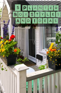 Think outside the proverbial planter box!  Let your imagination go wild!