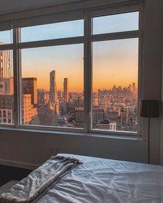 Nyc Apartment Luxury, Apartment View, Dream Apartment, Apartment Living, Living Room, City Living, New York Life, Nyc Life, City Life