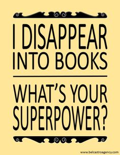 Books & superpowers - Introverts