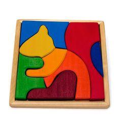 Wooden Puzzle Squirrel