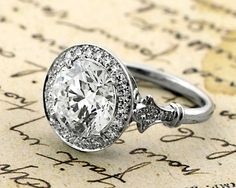 Engagement Ring - Marisa Perry Vintage Collection