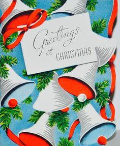 Greetings At Christmas. Christmas Card Images, Christmas Graphics, Christmas Past, Vintage Christmas Cards, Retro Christmas, Christmas Greeting Cards, Christmas Pictures, Vintage Cards, Christmas Postcards