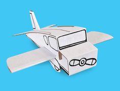 A volar con tu imaginación!   Construye, decora y personaliza tu TonAVION y dale vida a las más intrépidas aventuras aéreas.