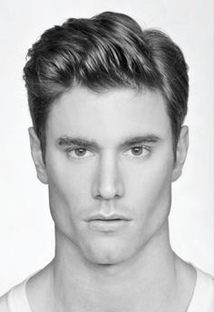 This messy Side part style is a sure way to get my attention. Men's Hairstyles 2012