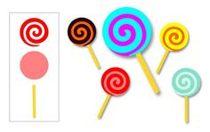The Lady Wolf: Food FREE SVG lollipop