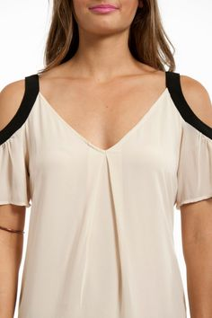 Try this shoulder detail on a spaghetti strap top/dress