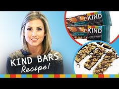 KIND BARS at Home (Gluten-Free & Natural)! - YouTube