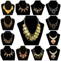 New Design Gorgeous Women Lady Bib Statement Multicrystal Necklace Collar Choker