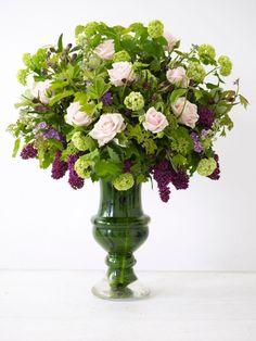 Joli et grand bouquet de fleurs de printemps