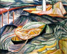 Marguerite Thompson Zorach Fauvism Art, Illustration Art, Illustrations, Landscapes, Artists, Artwork, Painting, Paisajes, Scenery