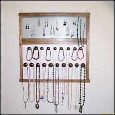Jewelry Organizer   Holder  Wall Mounted  by krjewelrydisplays, $54.00